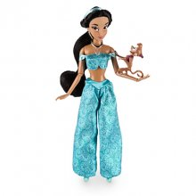 Jasmine Classic Doll with Abu Figure - 12'